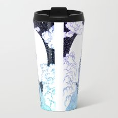 Ombre Tiger Moon Travel Mug