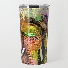 African Elephant Travel Mug