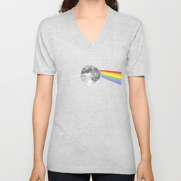 Dark Side of the Moon. Unisex V-Neck