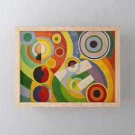"""Robert Delaunay """"Rythme, Joie de vivre"""" Framed Mini Art Print"""