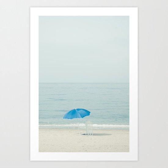 verano azul Art Print