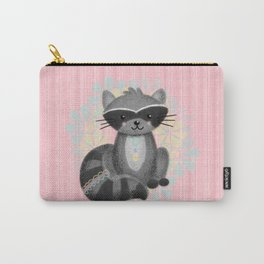 Cute Little Raccoon Carry-All Pouch