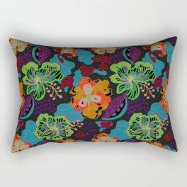 Hand Drawn Floral 0053 Rectangular Pillow