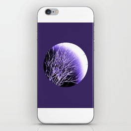 THE UltraViolet MOON iPhone Skin