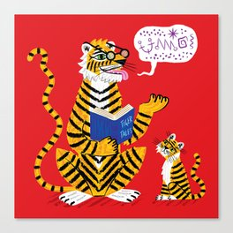 Tiger Tales Canvas Print