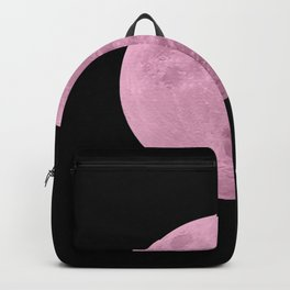 PINK MOON // BLACK SKY Backpack