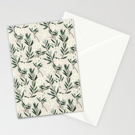 OLIVE BLOOM Stationery Cards
