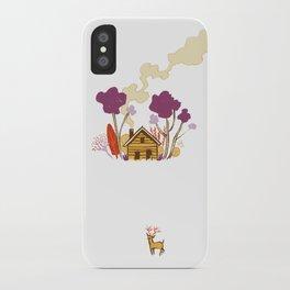 Cabin in Woods iPhone Case