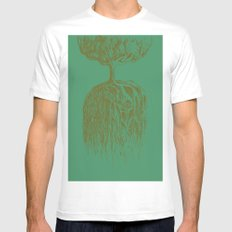 One Tree Planet *remastered* MEDIUM Mens Fitted Tee White