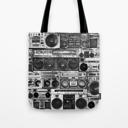 house of boombox Tote Bag