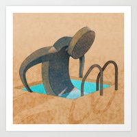 Personal Pool Art Print