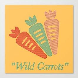 """Wild Carrots"" Canvas Print"