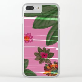 Hand made flowers Clear iPhone Case