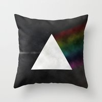 floyd Throw Pillows featuring Pink Floyd by TheYUCK