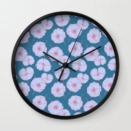 Anemone Wall Clock