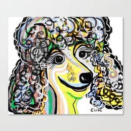 POODLE Soft Color Palette Canvas Print