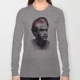 Huey Percy Newton (2/17/1942 – 8/22/1989) Long Sleeve T-shirt