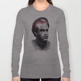 Huey Percy Newton (2/17/1942 – 8/22/1989) Long Sleeve T-shirt