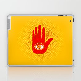 Hand and eye Laptop & iPad Skin