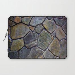 Stone Mosaic Wall Laptop Sleeve