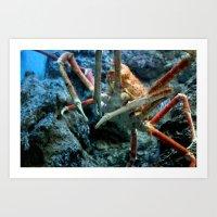 Mr. Crab! Art Print