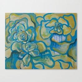 Bleeding Flowers Canvas Print
