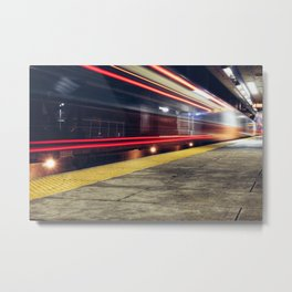 Traveling on Light Streams Metal Print
