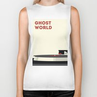 ghost world Biker Tanks featuring Ghost World by Stereo Unit