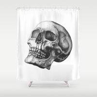 balance Shower Curtains featuring Balance by Bianca Beers
