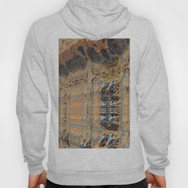 Ancient technology alien wall spaceship sci-fi fractal concept illustration Hoody
