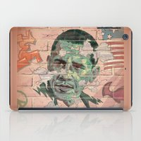 obama iPad Cases featuring Obama Wall by Moshik Gulst