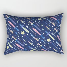 Magical Weapons Rectangular Pillow