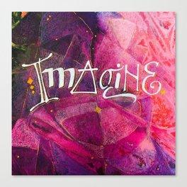Imagine Canvas Print