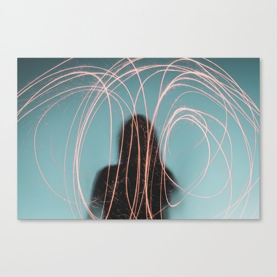 Light face Canvas Print