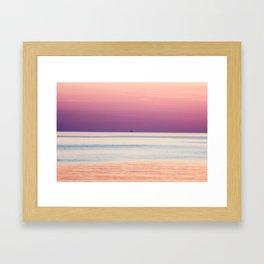 Solo Pink Framed Art Print