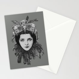 Lady Bird Skull Stationery Cards