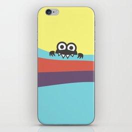 Yummy Colorful Stripes Cute Cartoon Character iPhone Skin