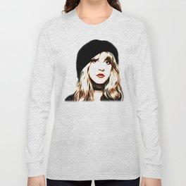 Stevie Nicks - Rhiannon - Pop Art Long Sleeve T-shirt
