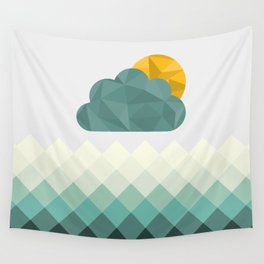 Sea Polygons Wall Tapestry