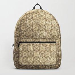 d20 Forbidden Scroll Critical Hit Pattern Backpack