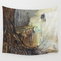 illusion Wall Tapestries featuring Illusion by Dariane