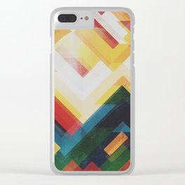Mountain of energy Clear iPhone Case