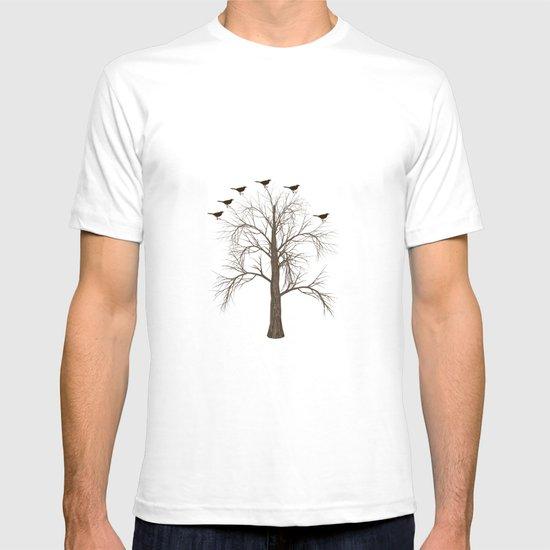 Tree with Birds T-shirt