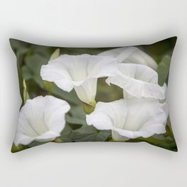 White Bells Rectangular Pillow