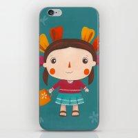 lolita iPhone & iPod Skins featuring Lolita by Gabriela Granados