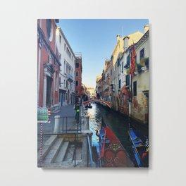 Gondola Ride Metal Print