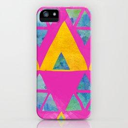 Triangle Jangle iPhone Case