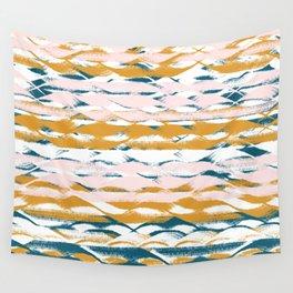 Wavy Stripes Wall Tapestry