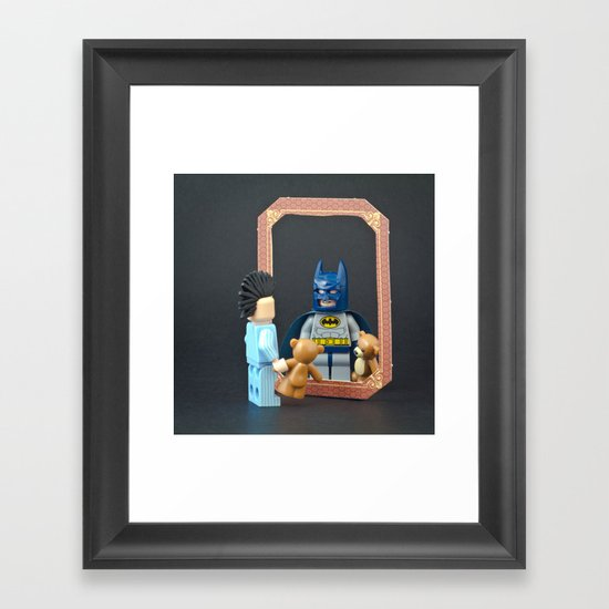 We are all Superheroes Framed Art Print