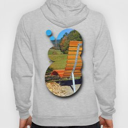 Bench with a view | conceptual photography Hoody